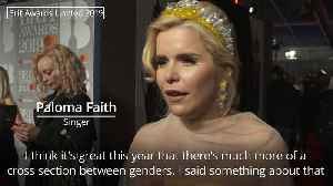 Paloma Faith happy with more female representation at the Brit Awards 2019 [Video]