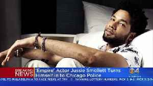 'Empire' Actor Jussie Smollett Turns Himself In to Chicago Police [Video]