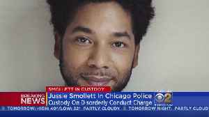 Jussie Smollet Turns Himself In For Allegedly Staging Attack [Video]