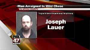 Man to be charged in police chase [Video]