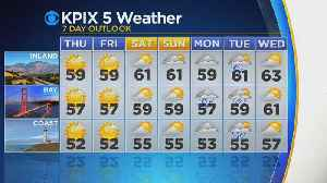 TODAY'S FORECAST: The latest forecast from the KPIX 5 Weather Team [Video]