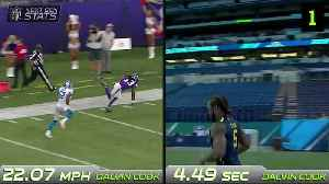 Next Gen Stats: How did NFL's fastest players of 2018 perform at their combines? [Video]