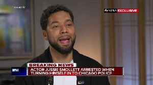 News video: PD: Jussie Smollett arranged racist letter, organized attack because he wasn't happy with salary