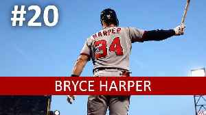 MLB Top 100: Does Bryce Harper Really Deserve a $300M Contract? [Video]