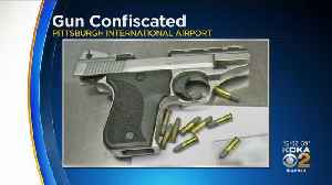 TSA Stops Venango County Man With Loaded Gun At Pittsburgh International Airport [Video]