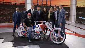 'American Chopper': Bike Reveal: Paul Jr.'s MLB Network Motorcycle [Video]