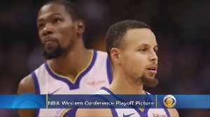 NBA Western Conference Playoff Picture [Video]