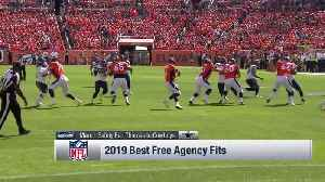 Around The NFL: Finding the best team fits for top 2019 free agents [Video]