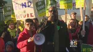 Teachers Rally And March During First Day Of Oakland Strike [Video]