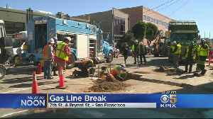 Gas Leak Near San Francisco Hall Of Justice Capped [Video]