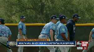 Health will be key for Rays potential playoff run [Video]