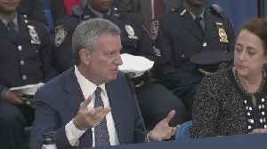 Mayor Bill De Blasio Talks Overhaul Of City Parking Placard Plan [Video]