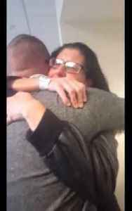 Army Soldier Surprises Mom Before Surgery [Video]