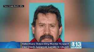 Detectives: Tahoe City Murder Suspect Found Dead In Church Bathroom After Apparently Shooting Himself [Video]