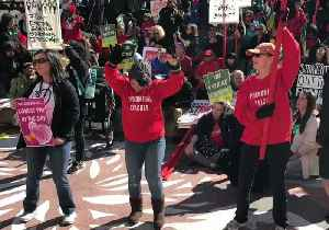 California Educators Rally With Students on First Day of Strike [Video]