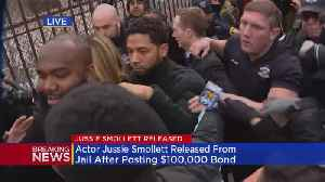Special Report: Jussie Smollett Leaves Cook County Jail [Video]