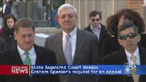 State Supreme Court Denies Graham Spanier's Request For An Appeal [Video]