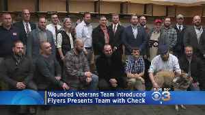 Wounded Veterans To Play For Philadelphia Flyers Warriors [Video]