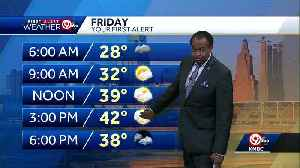 Friday will be mostly cloudy; rain chances increase by evening [Video]