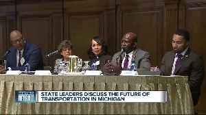 Future of transportation discussed during forum at Detroit Athletic Club [Video]