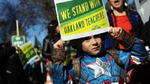 Striking Oakland Teachers Want Better Pay, Smaller Classes [Video]