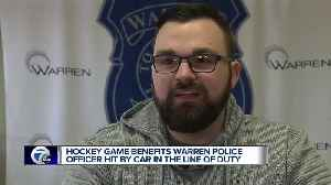 Warren police raising funds for officer injured in the line of duty [Video]