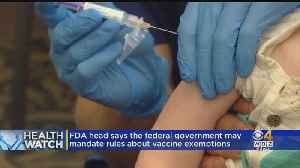 FDA Talks Tough On Vaccines; Night Exercise May Curb Appetite [Video]