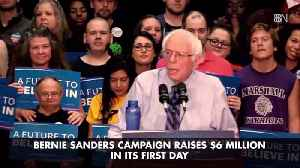 Bernie Sanders Takes In Some Serious Cash On 1st Day Of 2020 Run [Video]