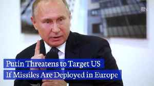 Putin Issues Missile Threat Against the United States [Video]