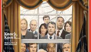 News video: Time Magazine Cover Portrays Crowded Field of Democratic Presidential Candidates