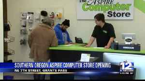 New Southern Oregon Aspire Computer Store Opens [Video]