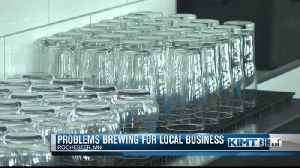 Local brewery needs people to stop bringing in outside alcohol [Video]