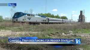 State Rep. Campbell to push state funding for Hoosier State Rail Line [Video]
