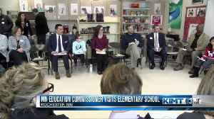 Minnesota's Education Commissioner visits Rochester [Video]