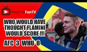 Who Would Have Thought Flamini Would Score !!! | Arsenal 3 West Ham 0 [Video]