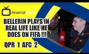 Bellerin Plays In Real Life Like He Does On FiFA !!! - QPR 1 Arsenal 2 [Video]