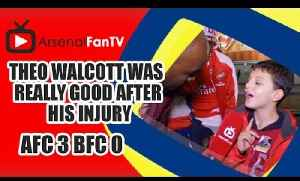 Walcott Was Really Good After His Injury - Arsenal 3 Burnley 0 [Video]
