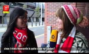 First game for Arsenal  女球迷的第一场球赛 Sunderland 0 Arsenal 2 [Video]