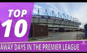 Top 10 Away Days In The Premier League   Robbie's Favourite Away Grounds [Video]