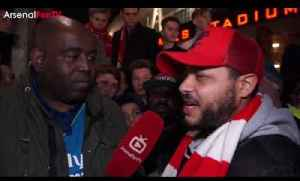 Arsenal 5 Lincoln 0 | We Only Protest Because The Club Don't Listen says Troopz [Video]