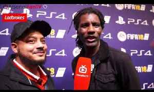 Rapper Wretch 32 Talks To Troopz | FIFA 18 Launch Party [Video]