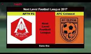 AFTV FC v AFC Colossal | Next Level Football League (Commentary by Troopz) [Video]