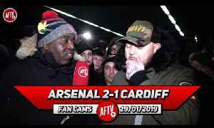 Arsenal 2-1 Cardiff City | Lacazette & Aubameyang Scored On My Birthday Im Buzzing! (DT) [Video]