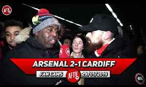 Arsenal 2-1 Cardiff City | Why Was Ozil Captain Today?! (Turkish) [Video]