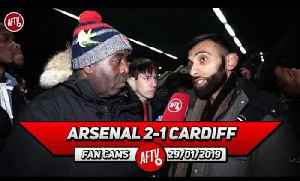 Arsenal 2-1 Cardiff City | Season Ticket Holders That Don't Turn Up Should Be Punished! (Moh) [Video]