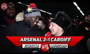 Arsenal 2-1 Cardiff City | I'm Looking Forward To Seeing Denis Suarez In Action! (Sonny) [Video]