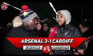 Arsenal 2-1 Cardiff City | I'd Rather We Get Carrasco, He's Younger Than Perisic! (Livz Ledge) [Video]