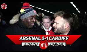 Arsenal 2-1 Cardiff City | Clearly Ozil Is Coming To The End Of His Arsenal Career (Graham) [Video]