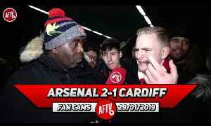Arsenal 2-1 Cardiff City | Gary Cahill Would Walk Into Our Defence! [Video]