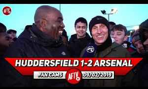 Huddersfield 1-2 Arsenal | Iwobi Sums Up The Whole Team, Frustrating! (Lee Judges) [Video]